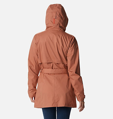 Women's Pardon My Trench™ Rain Jacket Pardon My Trench™ Rain Jacket | 458 | XS, Nova Pink, back