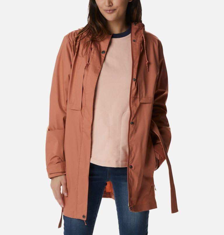 Pardon My Trench™ Rain Jacket   604   M Women's Pardon My Trench™ Rain Jacket, Nova Pink, front