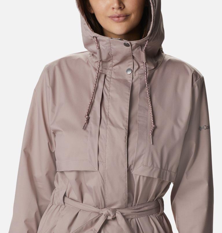 Pardon My Trench™ Rain Jacket | 649 | XL Women's Pardon My Trench™ Rain Jacket, Mauve Vapor, a2