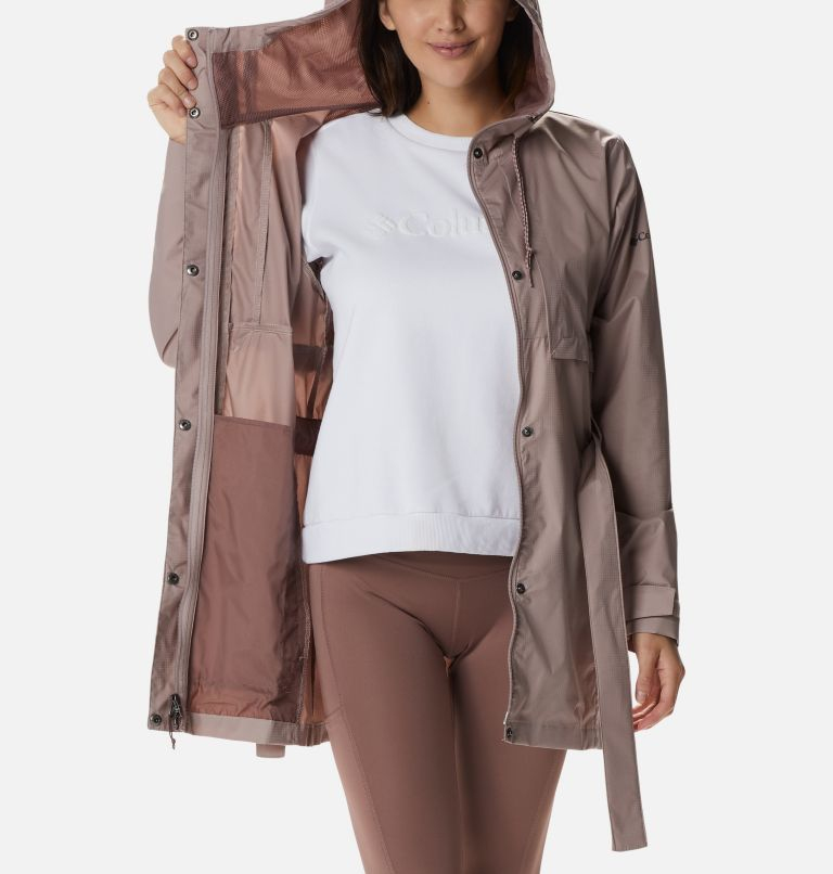 Pardon My Trench™ Rain Jacket   649   M Women's Pardon My Trench™ Rain Jacket, Mauve Vapor, a3