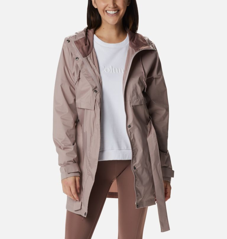 Pardon My Trench™ Rain Jacket | 649 | XL Women's Pardon My Trench™ Rain Jacket, Mauve Vapor, a5