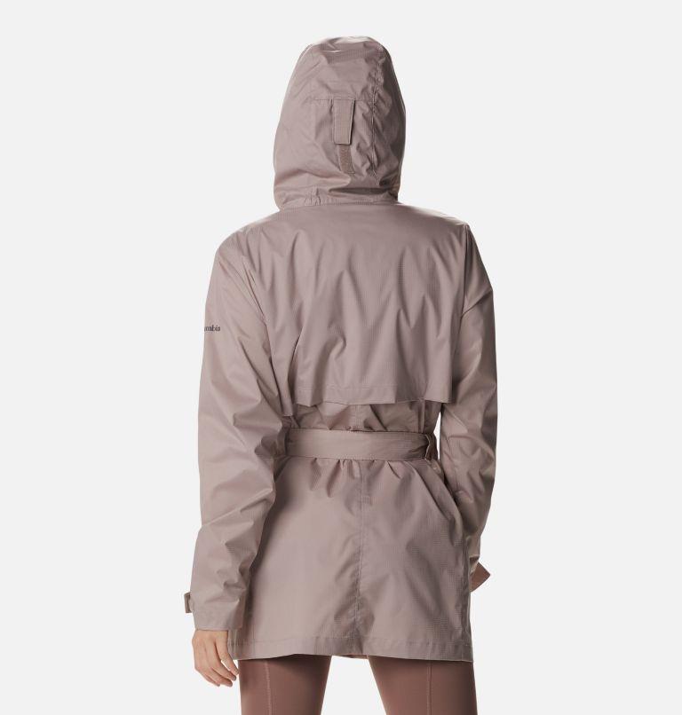Pardon My Trench™ Rain Jacket | 649 | XL Women's Pardon My Trench™ Rain Jacket, Mauve Vapor, back