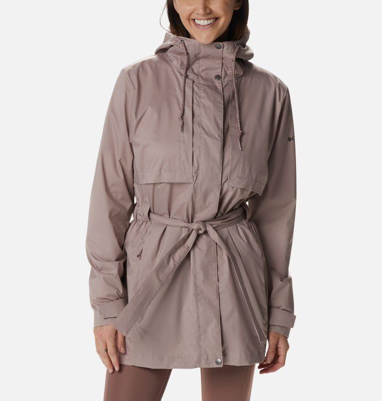 Pardon My Trench™ Rain Jacket | 649 | XL Women's Pardon My Trench™ Rain Jacket, Mauve Vapor, front
