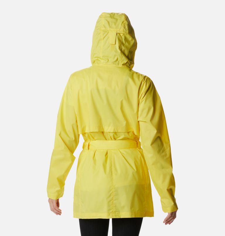 Pardon My Trench™ Rain Jacket | 729 | XL Women's Pardon My Trench™ Rain Jacket, Buttercup, back