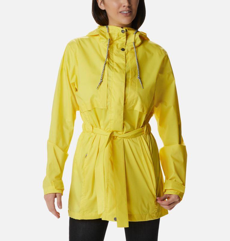 Pardon My Trench™ Rain Jacket | 729 | XL Women's Pardon My Trench™ Rain Jacket, Buttercup, front