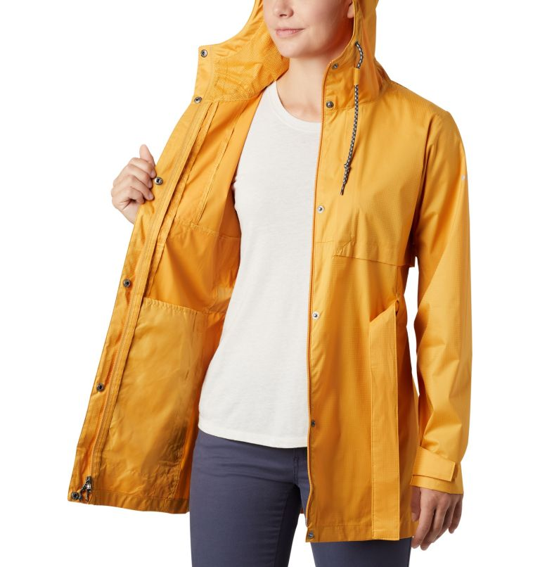 Pardon My Trench™ Rain Jacket | 756 | S Women's Pardon My Trench™ Rain Jacket, Raw Honey, a3