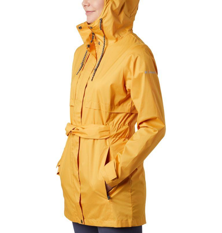 Pardon My Trench™ Rain Jacket | 756 | S Women's Pardon My Trench™ Rain Jacket, Raw Honey, a4