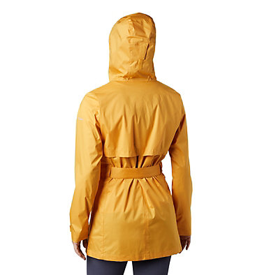 Women's Pardon My Trench™ Rain Jacket Pardon My Trench™ Rain Jacket | 458 | XS, Raw Honey, back