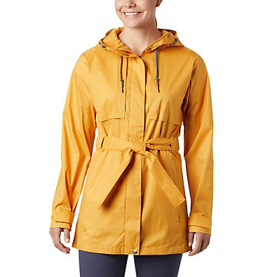 Women's Pardon My Trench™ Rain Jacket Pardon My Trench™ Rain Jacket | 458 | XS, Raw Honey, front