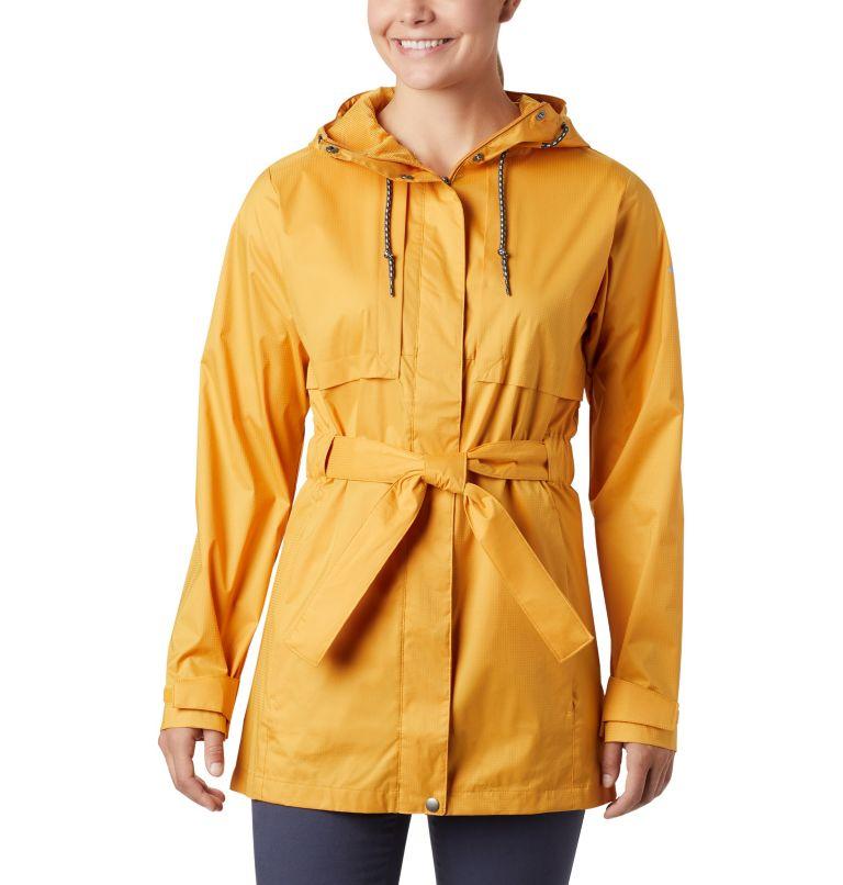 Pardon My Trench™ Rain Jacket | 756 | S Women's Pardon My Trench™ Rain Jacket, Raw Honey, front