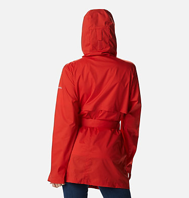 Women's Pardon My Trench™ Rain Jacket Pardon My Trench™ Rain Jacket | 458 | XS, Bold Orange, back