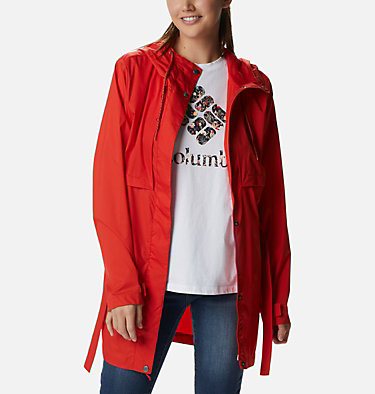 Women's Pardon My Trench™ Rain Jacket Pardon My Trench™ Rain Jacket | 458 | XS, Bold Orange, front