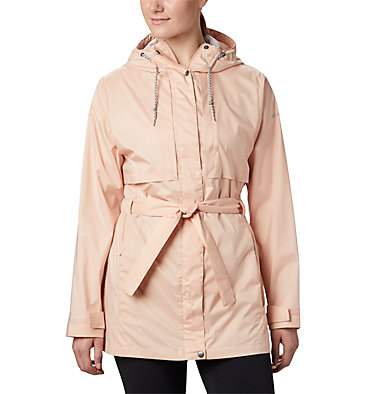 Women's Pardon My Trench™ Rain Jacket Pardon My Trench™ Rain Jacket | 458 | XS, Peach Cloud, front