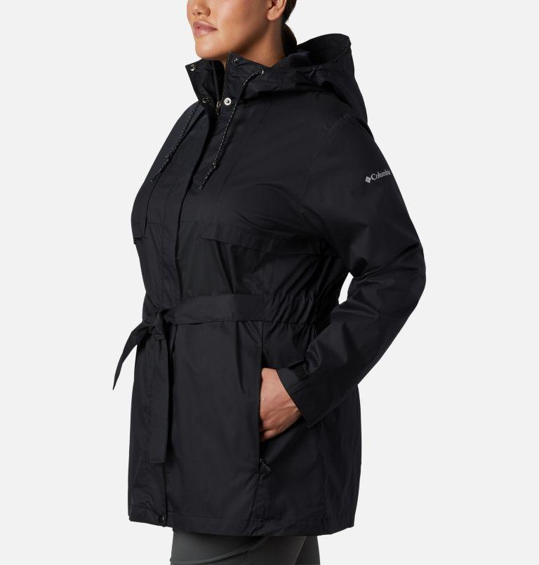 Pardon My Trench™ Rain Jacket | 010 | 1X Women's Pardon My Trench™ Rain Jacket – Plus Size, Black, a1