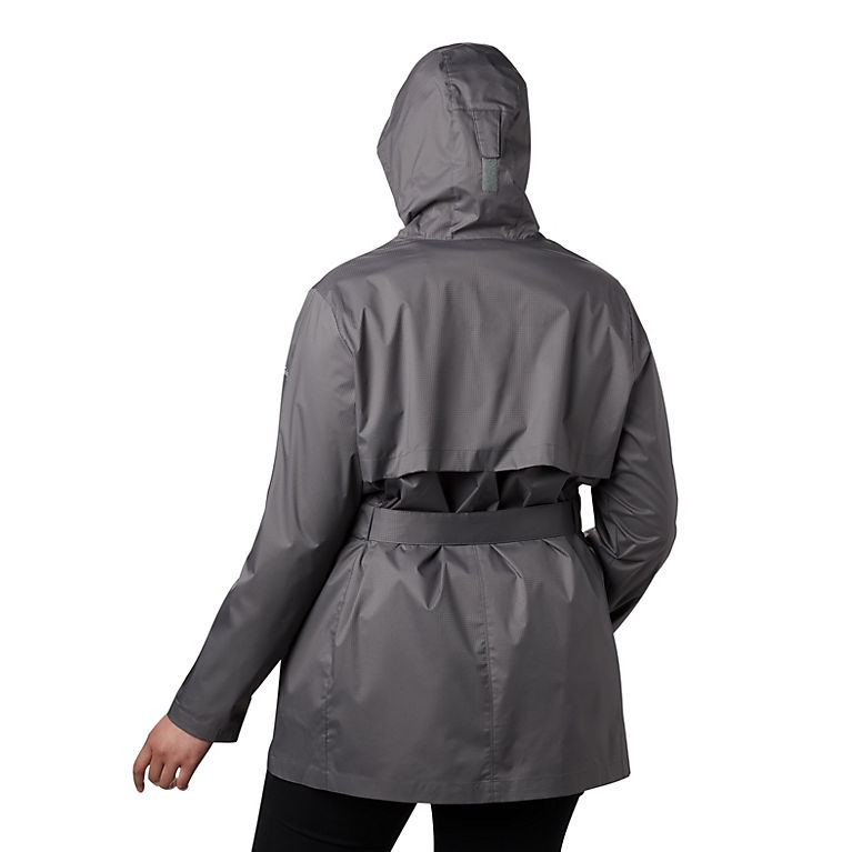 factory authentic retro arrives Women's Pardon My Trench™ Rain Jacket—Plus Size