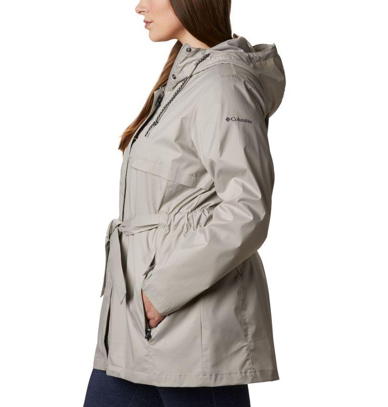 Pardon My Trench™ Rain Jacket | 027 | 1X Women's Pardon My Trench™ Rain Jacket – Plus Size, Flint Grey, a1