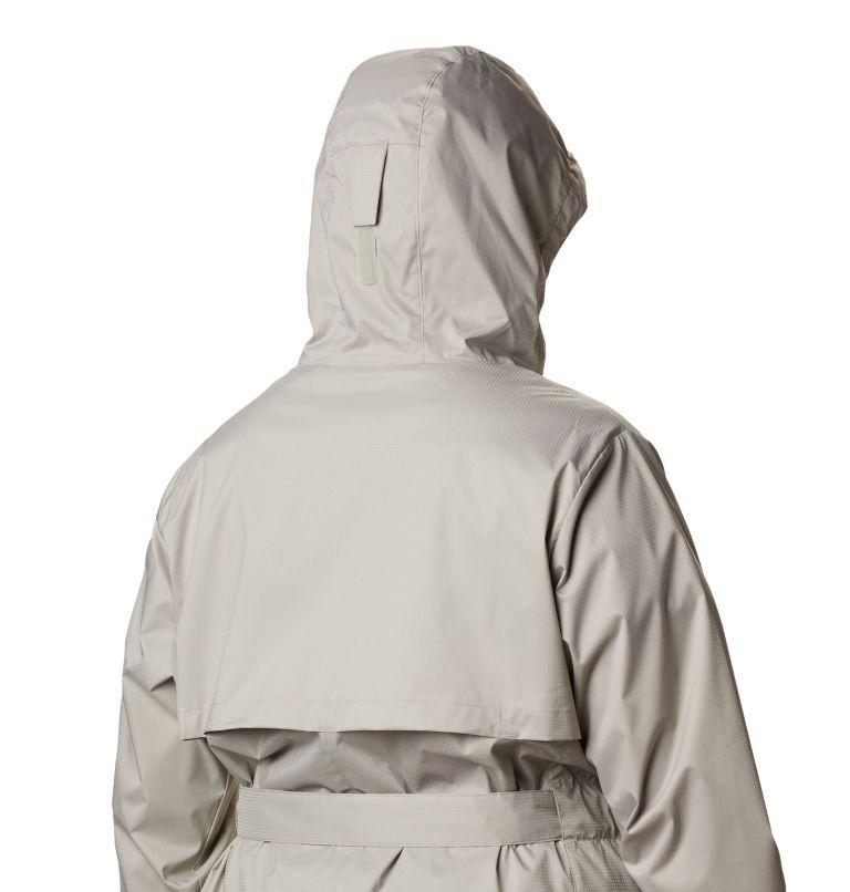 Pardon My Trench™ Rain Jacket | 027 | 1X Women's Pardon My Trench™ Rain Jacket – Plus Size, Flint Grey, a4
