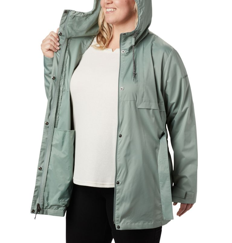 Women's Pardon My Trench™ Rain Jacket – Plus Size Women's Pardon My Trench™ Rain Jacket – Plus Size, a3