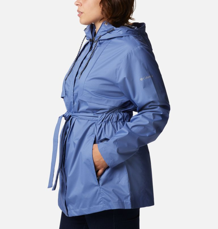 Pardon My Trench™ Rain Jacket | 458 | 3X Women's Pardon My Trench™ Rain Jacket – Plus Size, Velvet Cove, a1
