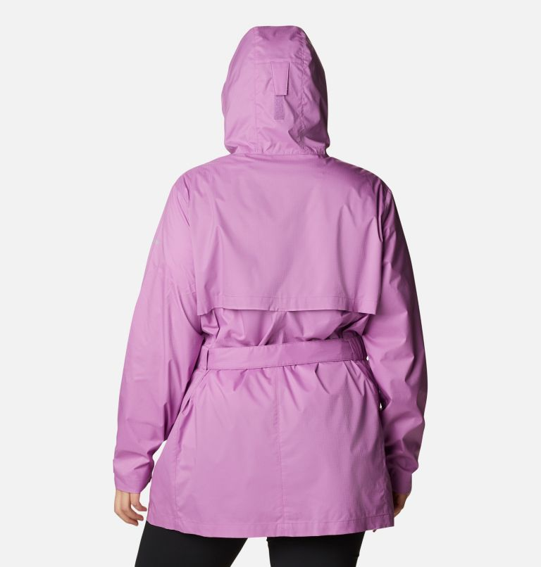 Women's Pardon My Trench™ Rain Jacket – Plus Size Women's Pardon My Trench™ Rain Jacket – Plus Size, back