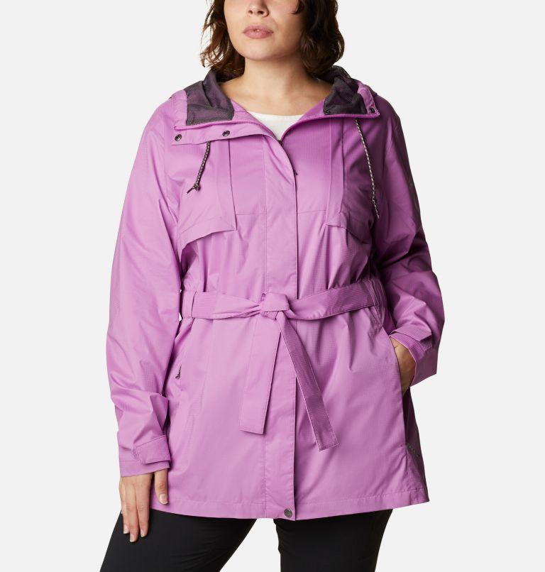 Women's Pardon My Trench™ Rain Jacket – Plus Size Women's Pardon My Trench™ Rain Jacket – Plus Size, front