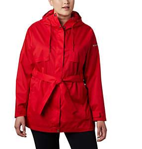 Women's Pardon My Trench™ Rain Jacket—Plus Size