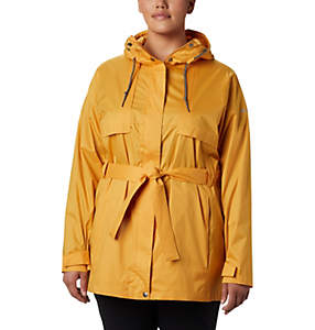 Women's Pardon My Trench™ Rain Jacket—Plus Size