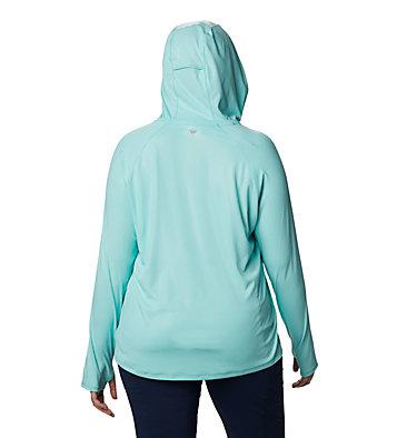 Women's PFG Tidal Deflector™ Hoodie - Plus Size Tidal Deflector™ Hoodie | 658 | 1X, Dolphin, back