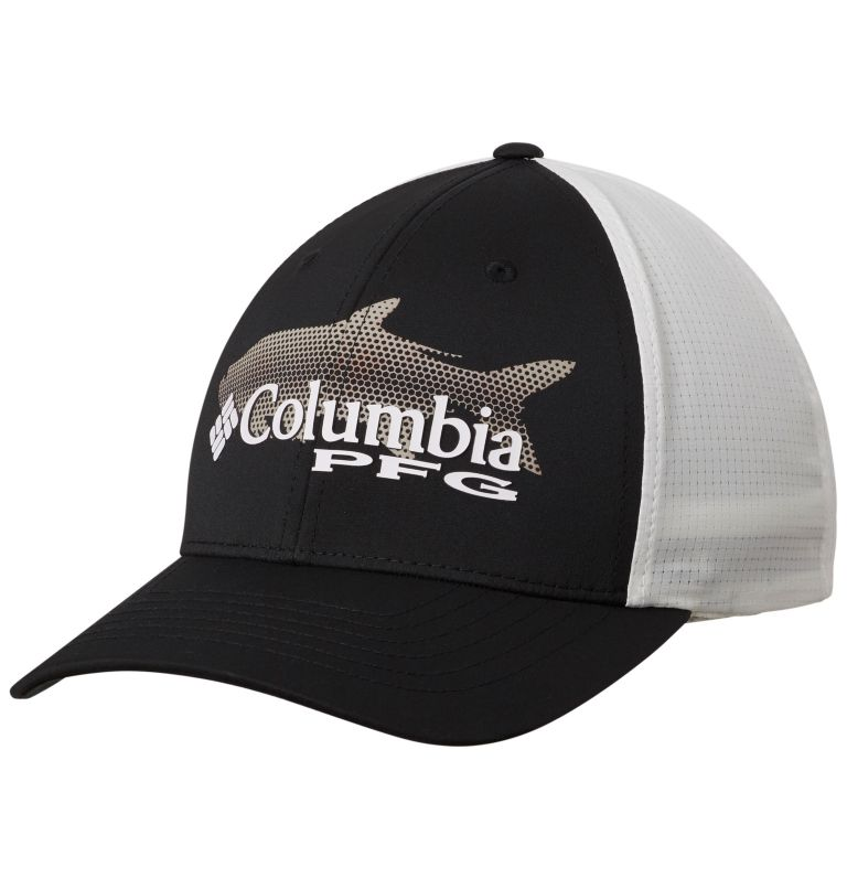 PFG Signature 110™ II Ball Cap | 010 | O/S PFG Signature 110™ II Ball Cap, Black, Cool Grey, front