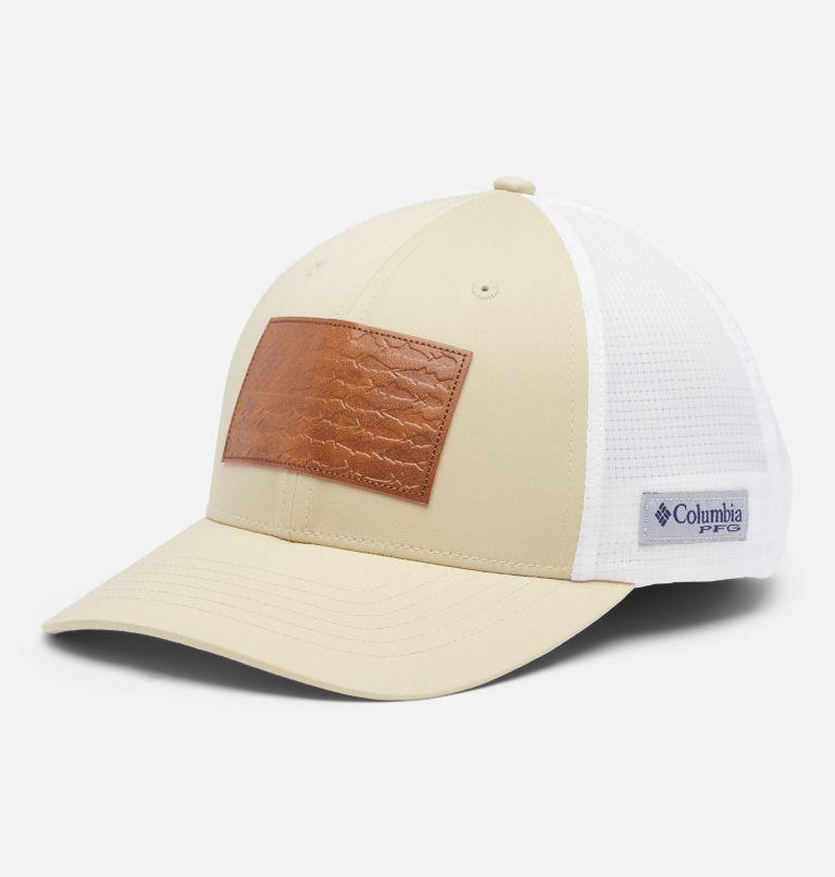 PFG Signature 110™ II Ball Cap | 160 | O/S PFG Signature 110™ II Ball Cap, Fossil, US Fish Flag, front