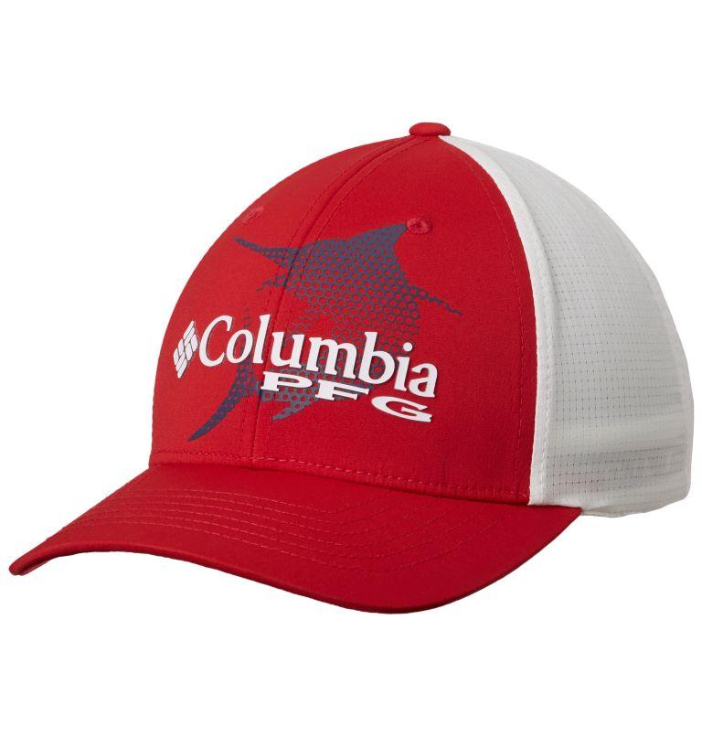 PFG Signature 110™ II Ball Cap   613   O/S Casquette de baseball PFG Signature 110™ II, Mountain Red, Carbon, front