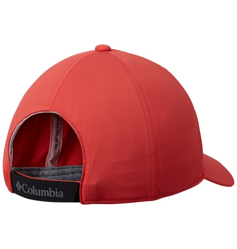 Coolhead™ II Ball Cap | 633 | O/S Unisex Coolhead™ II Ball Cap, Red Coral, back