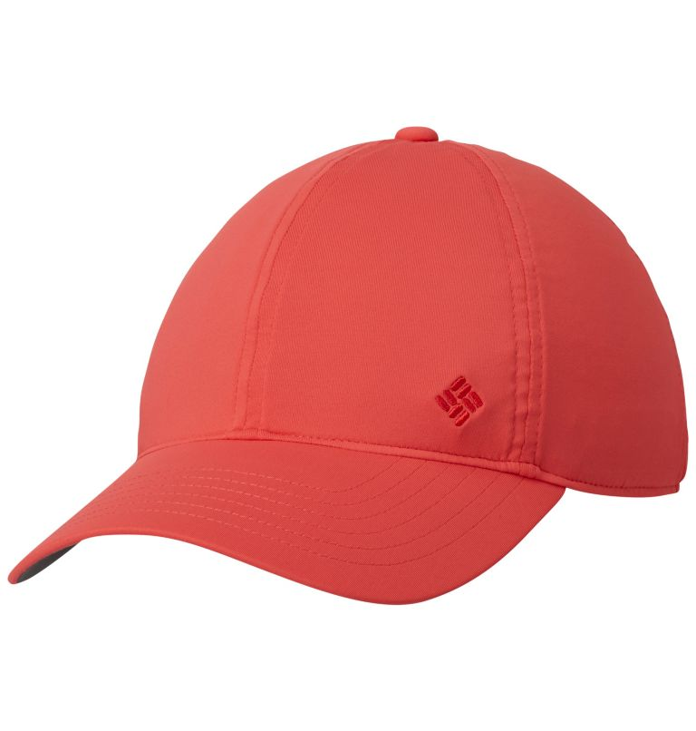 Coolhead™ II Ball Cap | 633 | O/S Unisex Coolhead™ II Ball Cap, Red Coral, front