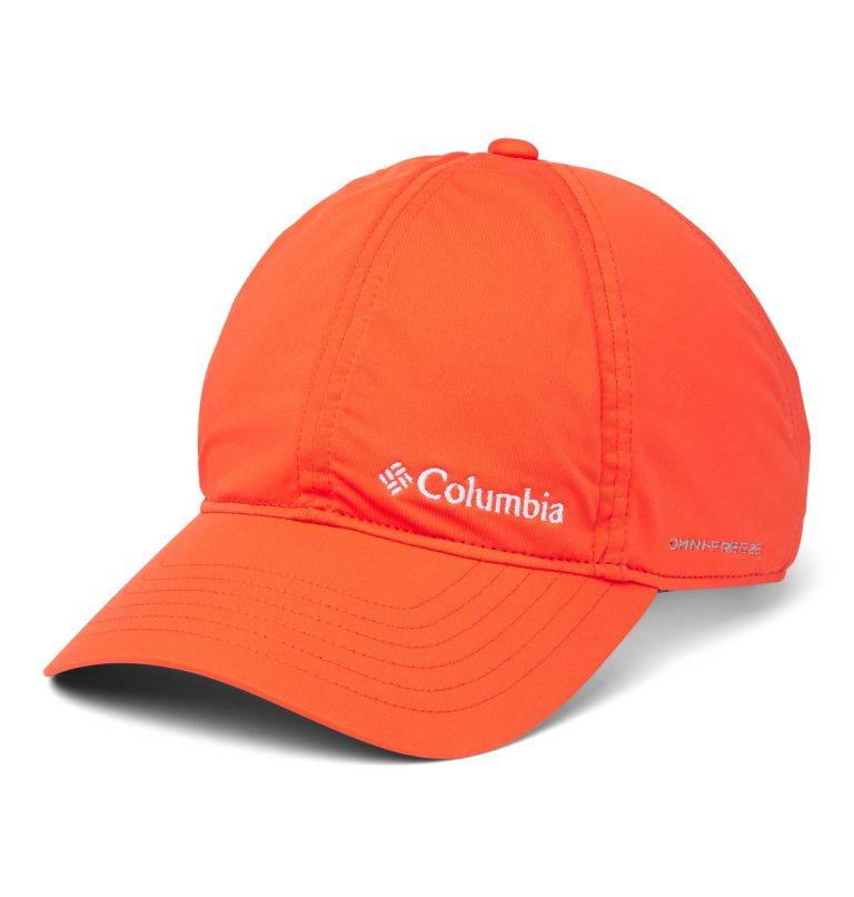 Coolhead™ II Ball Cap | 847 | O/S Unisex Coolhead™ II Ball Cap, Bright Poppy, front