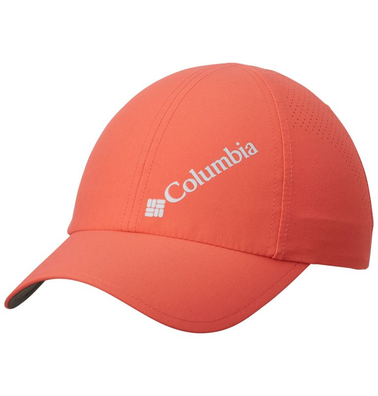Silver Ridge™ III Ball Cap | 633 | O/S Unisex Silver Ridge™ III Ball Cap, Red Coral, front