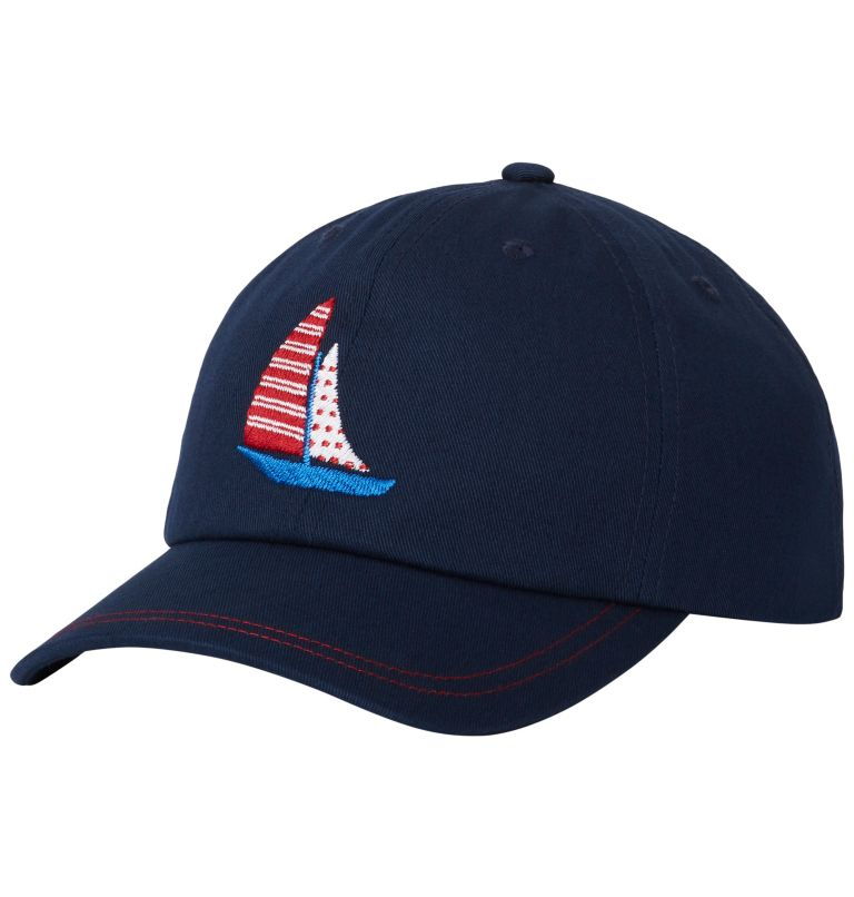 CSC™ Youth Ball Cap | 464 | O/S Casquette de Baseball CSC™ Junior, Collegiate Navy, Sail Boat, front