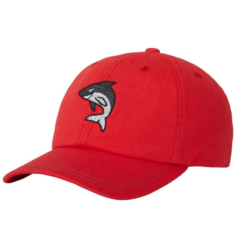 CSC™ Youth Ball Cap | 691 | O/S Youth CSC™ Youth Ball Cap, Bright Red, Shark, front