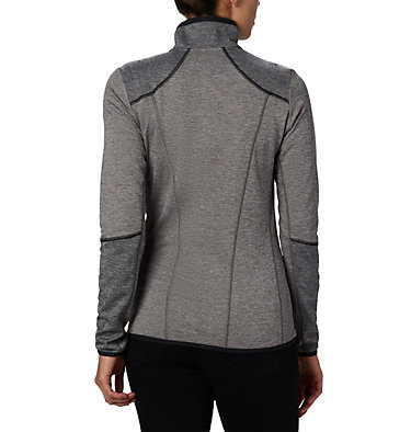 Women's Baker Valley™ Fleece Jacket Baker Valley™ Full Zip Fleece | 633 | M, Charcoal Heather, back