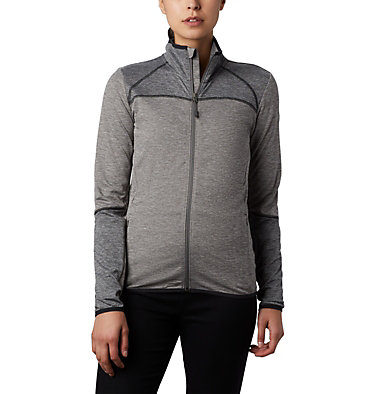 Women's Baker Valley™ Fleece Jacket Baker Valley™ Full Zip Fleece | 633 | M, Charcoal Heather, front