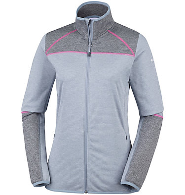 Veste Polaire Baker Valley™ Femme Baker Valley™ Full Zip Fleece | 633 | M, Tradewinds Grey, Shark, front
