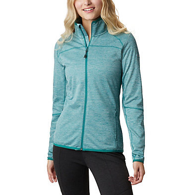 Women's Baker Valley™ Fleece Jacket Baker Valley™ Full Zip Fleece | 633 | M, Waterfall Heather, front