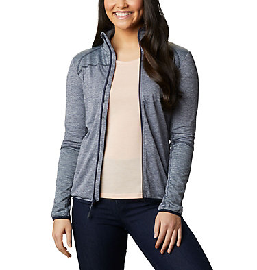Women's Baker Valley™ Fleece Jacket Baker Valley™ Full Zip Fleece | 633 | M, Nocturnal, Dark Nocturnal Heather, front