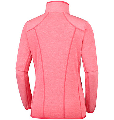 Women's Baker Valley™ Fleece Jacket Baker Valley™ Full Zip Fleece | 633 | M, Red Coral, Coral Bloom, back