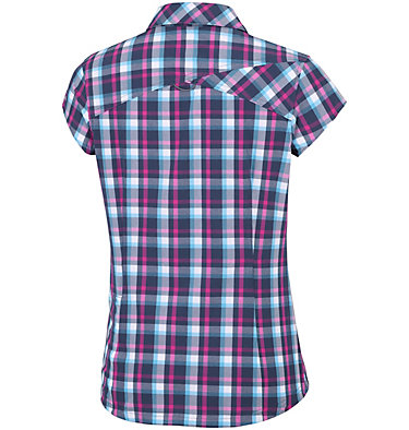 Saturday Trail™ II kurzärmlige bedruckte Bluse aus Stretchmaterial Saturday Trail™ II Stretch Pri | 404 | XS, Atoll Plaid, back