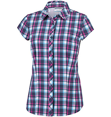 Women's Saturday Trail™ II Stretch Print Short Sleeve Shirt , front