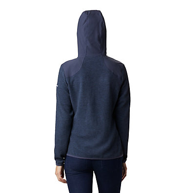 Fleece con cerniera Coggin Peak™ da donna Coggin Peak™ FZ Hooded Fleece | 467 | L, Nocturnal, back