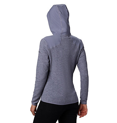 Fleece con cerniera Coggin Peak™ da donna Coggin Peak™ FZ Hooded Fleece | 467 | L, New Moon, back