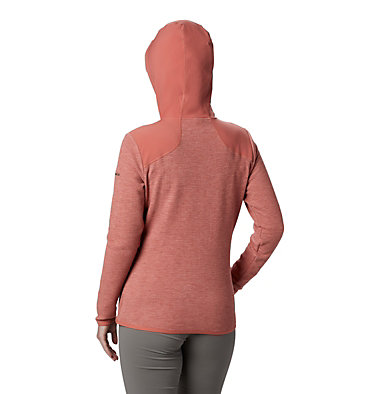 Women's Coggin Peak™ Hooded Fleece Jacket Coggin Peak™ FZ Hooded Fleece | 467 | L, Dark Coral, back