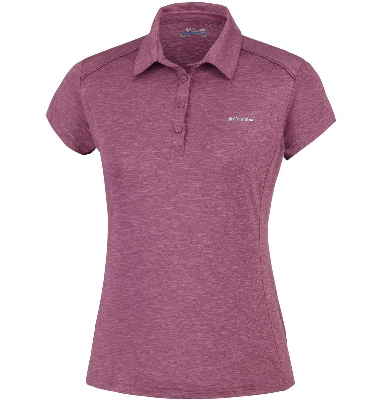 Firwood Camp™ Polo | 551 | L Polo Firwood Camp™ Femme, Antique Mauve Heather, front