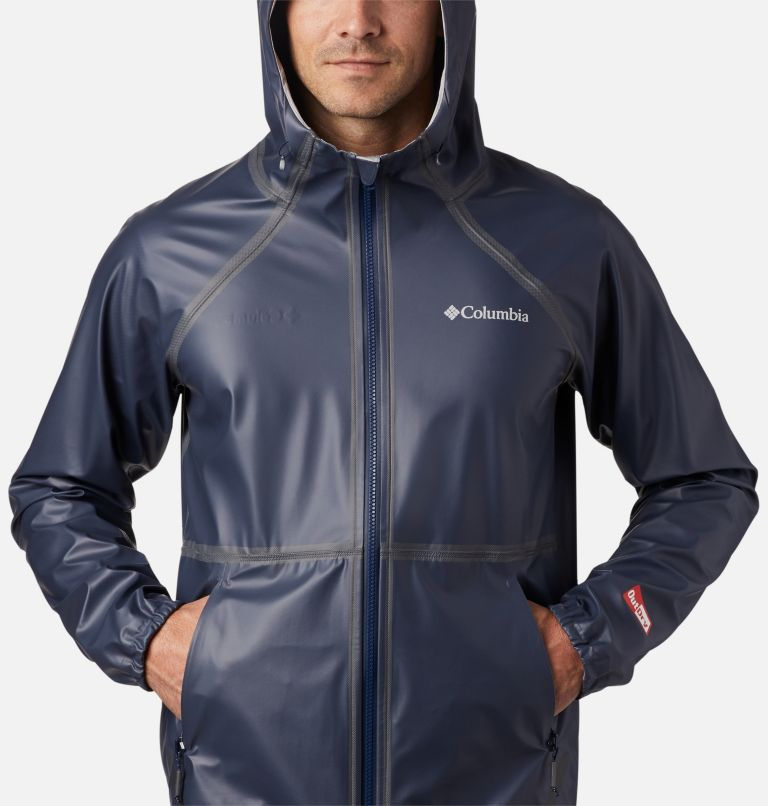 OutDry Ex™ Reversible II Jacket | 464 | S Men's OutDry™ Ex Reversible II Jacket, Collegiate Navy, Columbia Grey Heather, a2